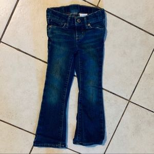 Little Girls Bootcut Stretch Jeans Size 4 Slim